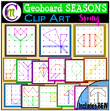 Geoboards Clipart SEASONS ~ Spring