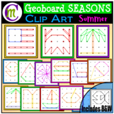 Geoboards Clipart SEASONS ~ Summer