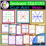 Geoboards Clipart SEASONS ~ Winter
