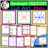 Geoboards Clipart SEASONS ~ Winter