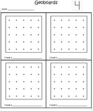 Geoboards Making Shapes, Numbers, and Letters