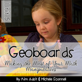 Geoboards Math Activities - by Kim Adsit and Michele Scannell