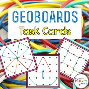Geoboards Task Cards