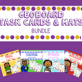 Geoboards Task Cards and Mats Bundle