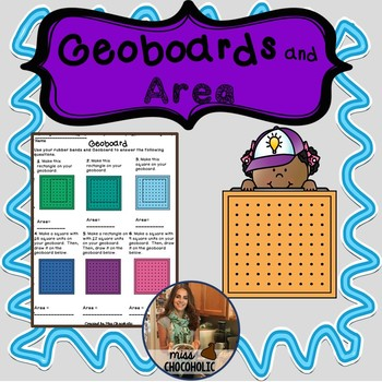 Geoboards and Area- Color and B&W