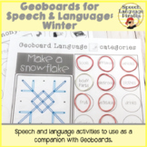 Geoboards for Speech and Language: Winter