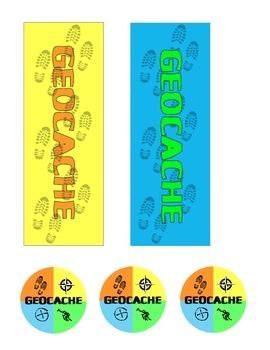 photo regarding Official Geocache Printable called Geocache Celebration Printables Geocaching
