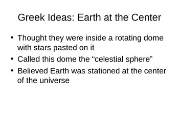 Geocentric vs. heliocentric models- astronomy