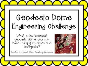 Geodesic Dome: Engineering Challenge Project ~ Great STEM