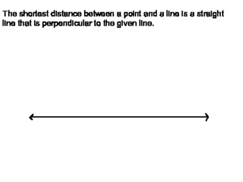 Geoemtry SS 3.6 - Perpendiculars and Distance