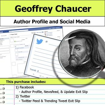 Geoffrey Chaucer - Author Study - Profile and Social Media