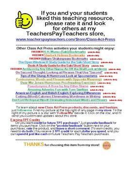 Geoffrey Chaucer Bookmarks FREE