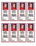 Geoffrey Chaucer Bookmarks (FREE!)