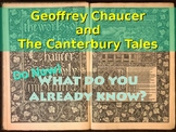 Geoffrey Chaucer and The Canterbury Tales - Context Lesson