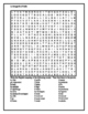 Geografia d'Italia Wordsearch for Differentiated learning