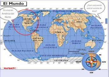 Geografia de America del Norte -North America