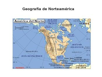 Geografía de América del Norte powerpoint