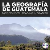 Reading Activity: La Geografía de Guatemala