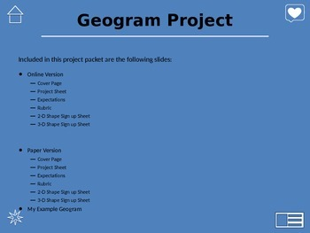 Geogram Project