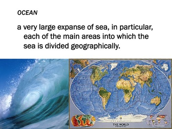 Geographic Features Map Making Lesson + Activity
