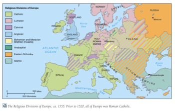 the reformation of european religion in the 16th century from calvinism to lutheran reformation In central europe, the peace of augsburg (1555) permitted each state of the holy roman empire to be either catholic or lutheran at the option of the prince by the late 16th century, northern european countries were generally protestant and mediterranean countries generally catholic.