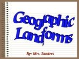 Geographic Landform Dictionary
