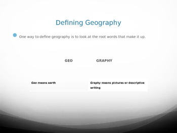 Geographic Literacy