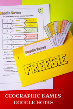 FREEBIE - Geographic Names with the Definite Article