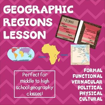 Geographic Regions Lesson