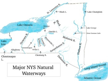 Geographic Regions of NYS PowerPoint