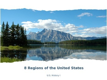 Geographic Regions of North America