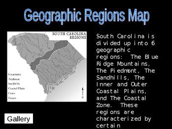 Geographic Regions of South Carolina Presentation