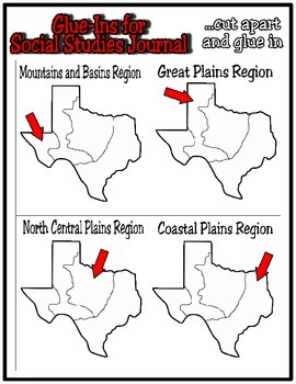 Texas Regions:  Geographic Regions of Texas