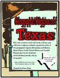 Texas Regions:  Geographic Regions of Texas