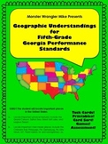 Geographic Understandings for the Fifth-Grade Georgia Performance Standards