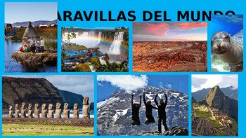 Geographical Features of the Spanish-speaking world / Las Maravillas del Mundo