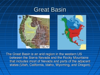 Geographical Features of the United States PP (Ga. 4th Grade Standard)