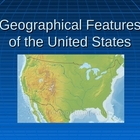 Geographical Features of the United States PP (Ga. 4th Gra