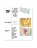 Geographical Land Form Sort