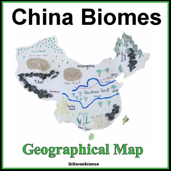 Geographical Map and China Biomes