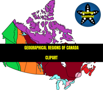 Geographical Regions of Canada Clipart