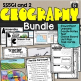 Geographical Understandings Unit Bundle SS5G1 & SS5G2 Economic Patterns