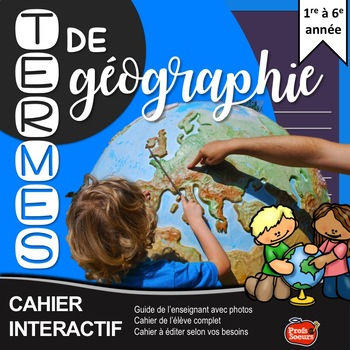 Cahier Interactif univers social / French Core Immersion / Social studies