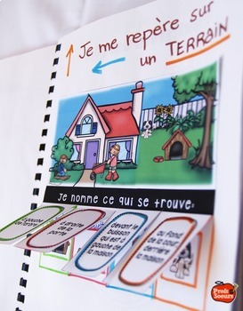 French Core Immersion Notebook/Cahier Interactif Géographie /Social studies