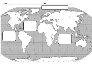 Geography of Earth - Continents and Oceans