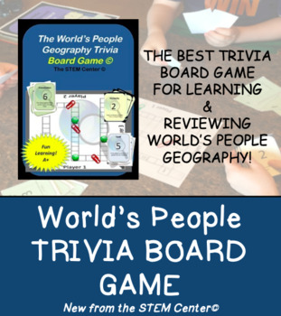 Geography Trivia Board Game!
