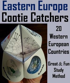 European Geography (k-12) Activity: Eastern Europe (Map Skills Unit)