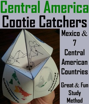 Central America Geography (k-12) Activity (Map Skills Unit)