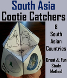 South Asia Activity (World Geography Unit: Map Skills Game)