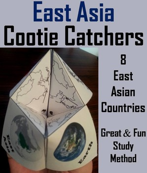 East Asia Geography (k-12) Activity (Map Skills Unit)